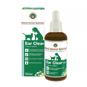 Natural Animal Solutions Ear Cleaner 50ml