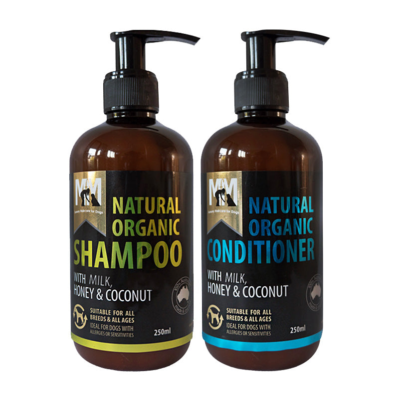 Meals for Muts Organic Shampoo & Conditioner 250mL