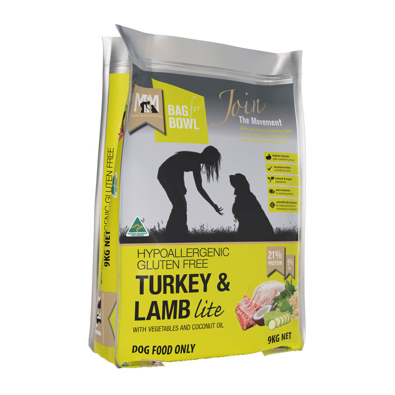 Meals for Mutts Turkey & Lamb Lite Gluten Free Dog Food