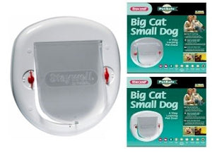 Staywell Big Cat Small Dog 4 Way Locking Pet Door