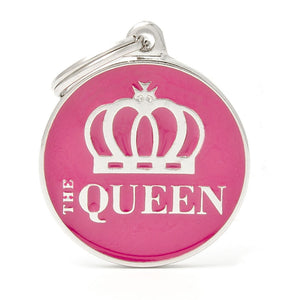 Queen Pet ID Tag