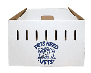 Pet Pack Disposable Cardboard Pet Carrier
