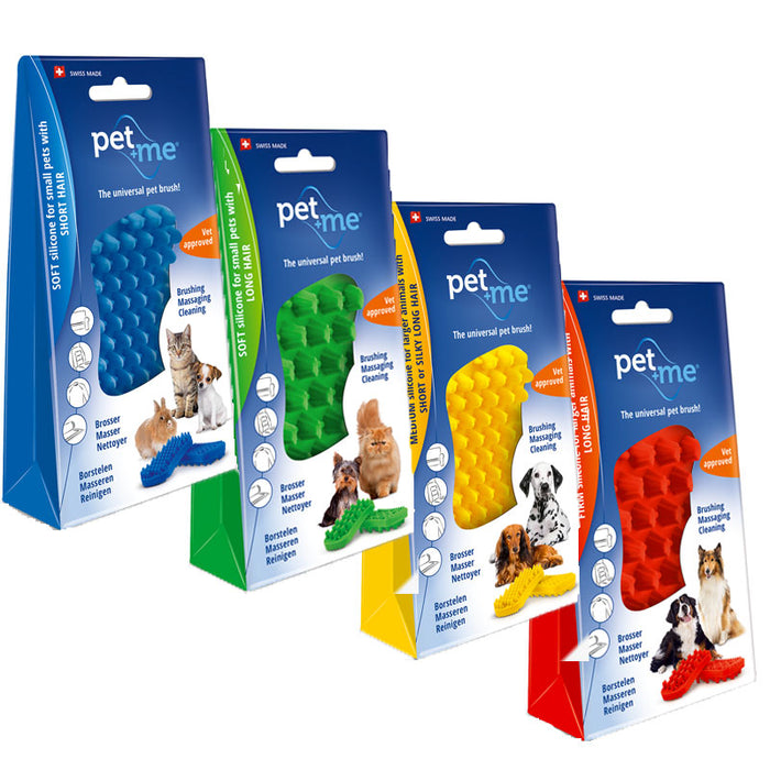 pet+me Silicone Brush