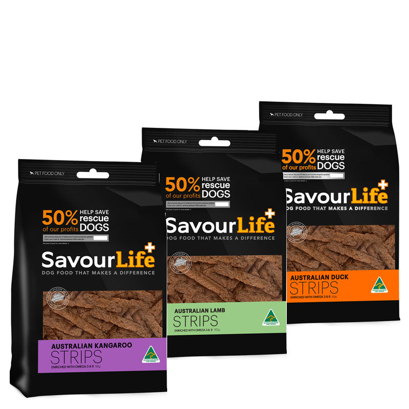 SavourLife Australian Meaty Strips for Dogs