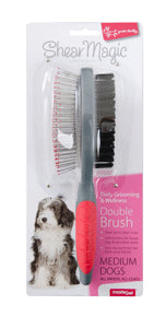 Shear Magic Double Sided Brush
