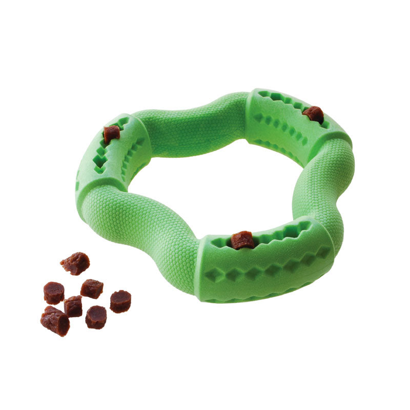 RUFF Play TPR Foam Dental Treat Ring