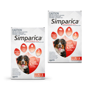 Simparica for Extra Large Dogs 40.1 to 60kg
