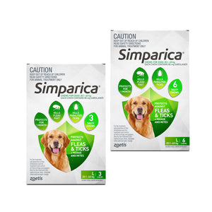 Simparica for Large Dogs 20.1 to 40kg
