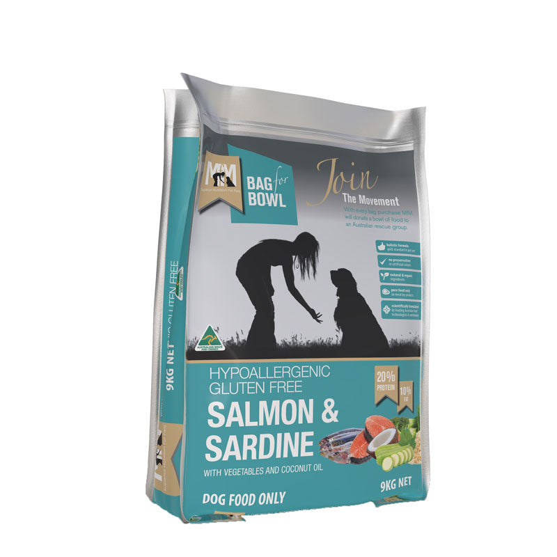 Meals For Mutts Salmon/Sardine Gluten Free Dog Food