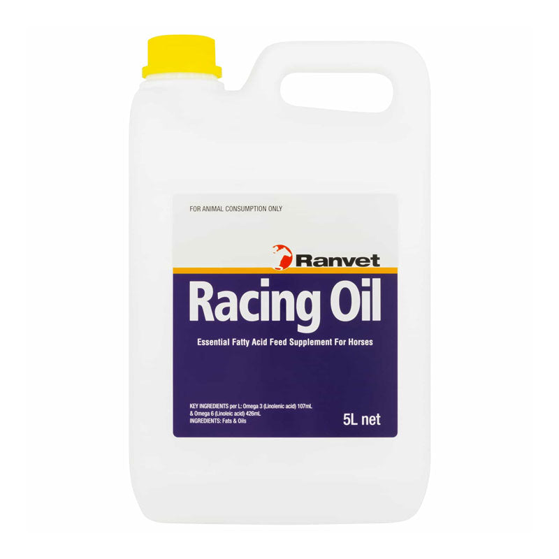 Racing Oil Essential Fatty Acid Feed Supplement