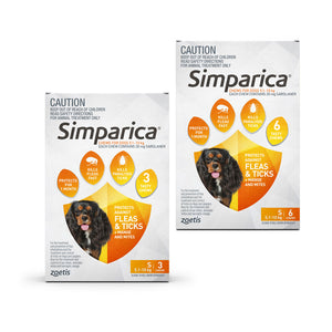 Simparica for Small Dogs 5.1 to 10kg