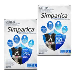 Simparica for Medium Dogs 10.1 to 20kg
