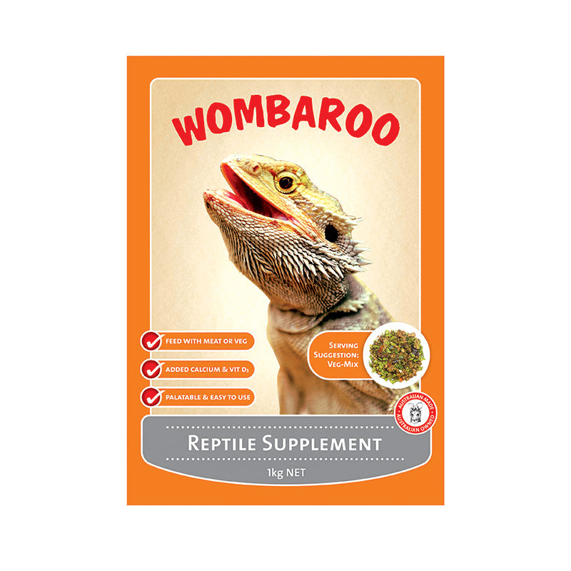 Wombaroo Reptile Supplement