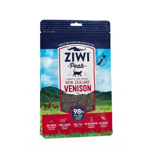 ZiwiPeak Air Dried Venison for Cats 400g