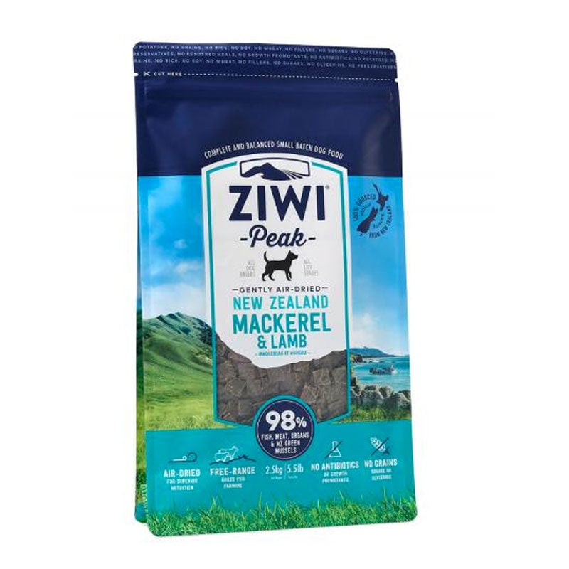 Ziwi Peak Air Dried Mackerel &  Lamb For Dogs