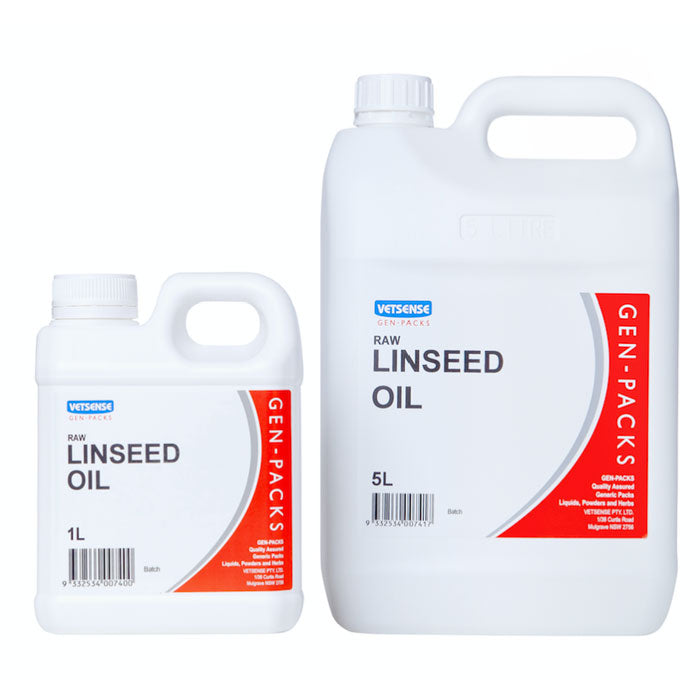 Vetsense Gen Packs Linseed Oil