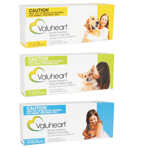 Valuheart Heartworm Tablets for Dogs