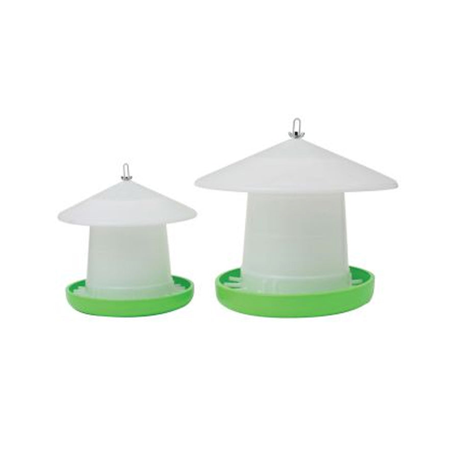 Poultry Feeder Crown Suspension w Cover