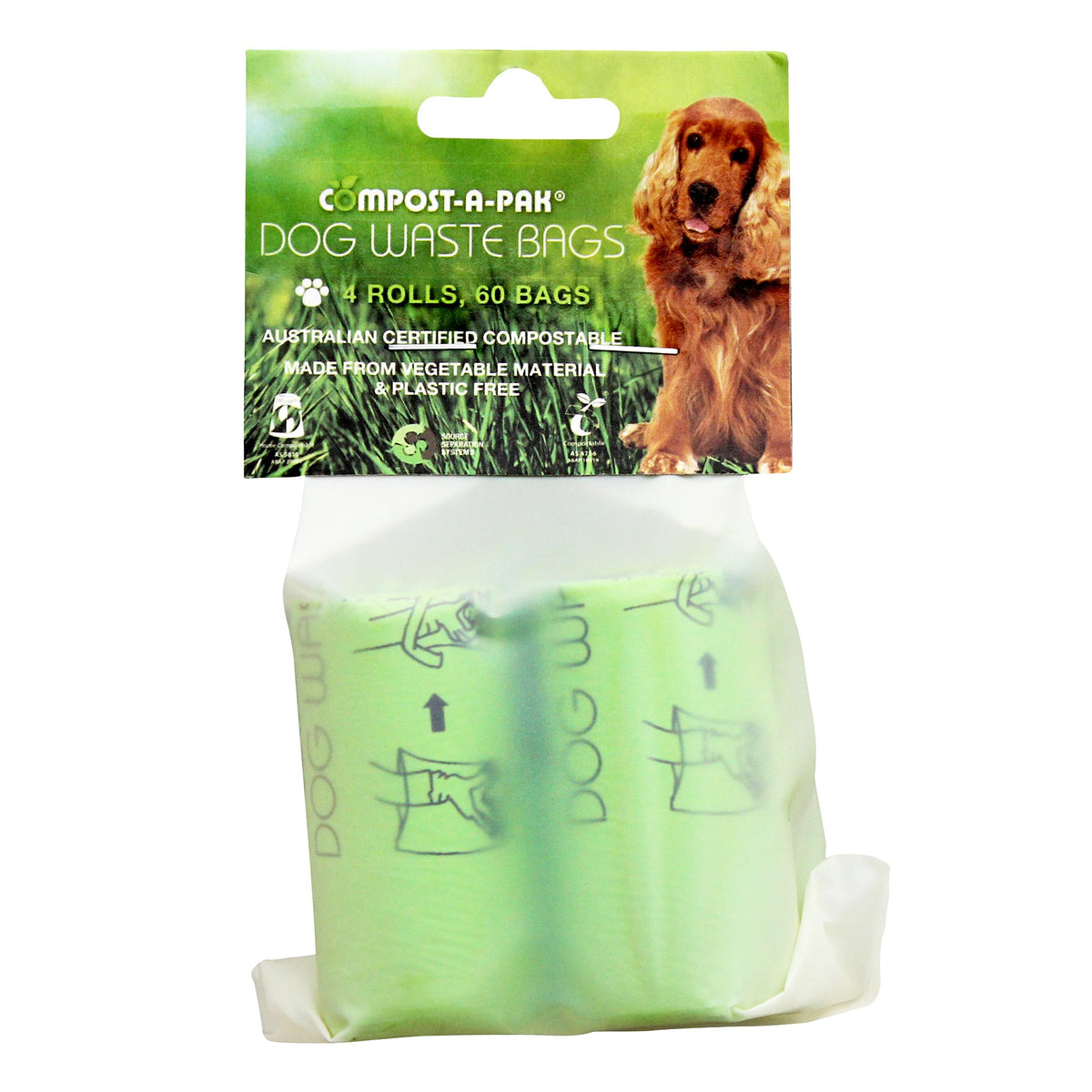 Compost-A-Pak Home Compostable Biodegradable Dog Poop Bags