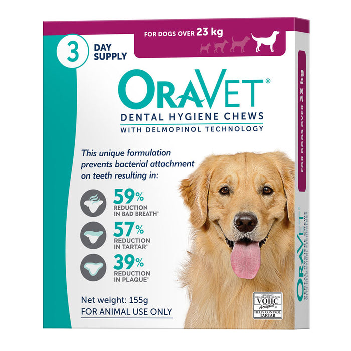 OraVet Dental Hygiene Chews for Dogs 23+kg