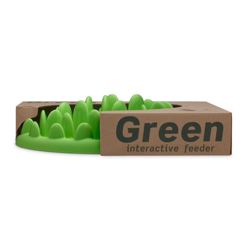 GREEN Slow Feeder Bowl