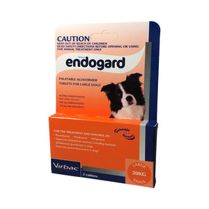 Endogard Palatable Allwormer Tablets - Large Dogs