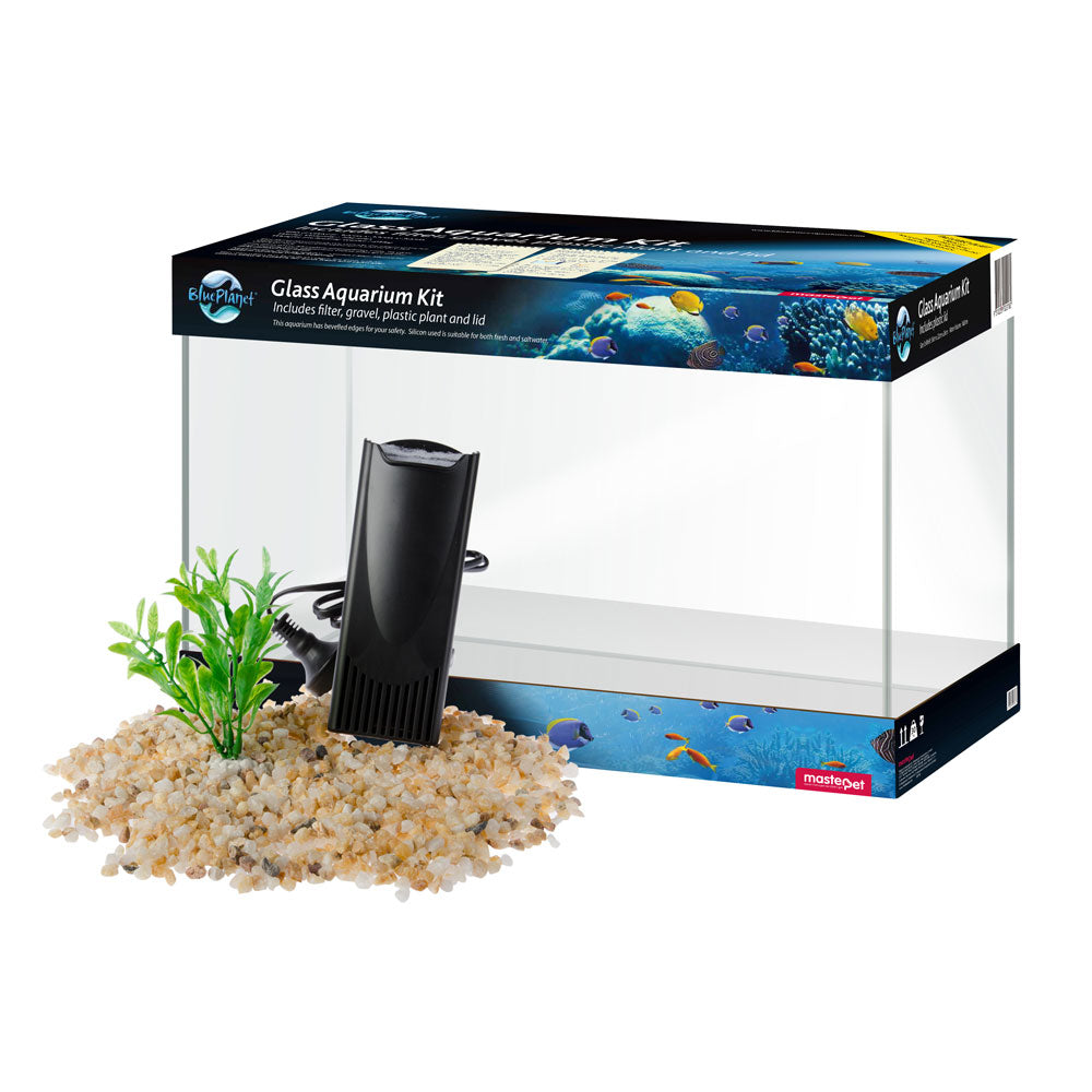 Blue Planet Fish Tank Aquarium Kit - 16L
