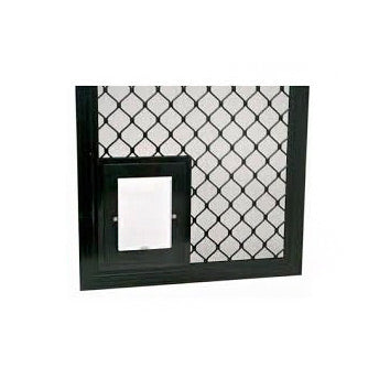Security Screen Pet Door