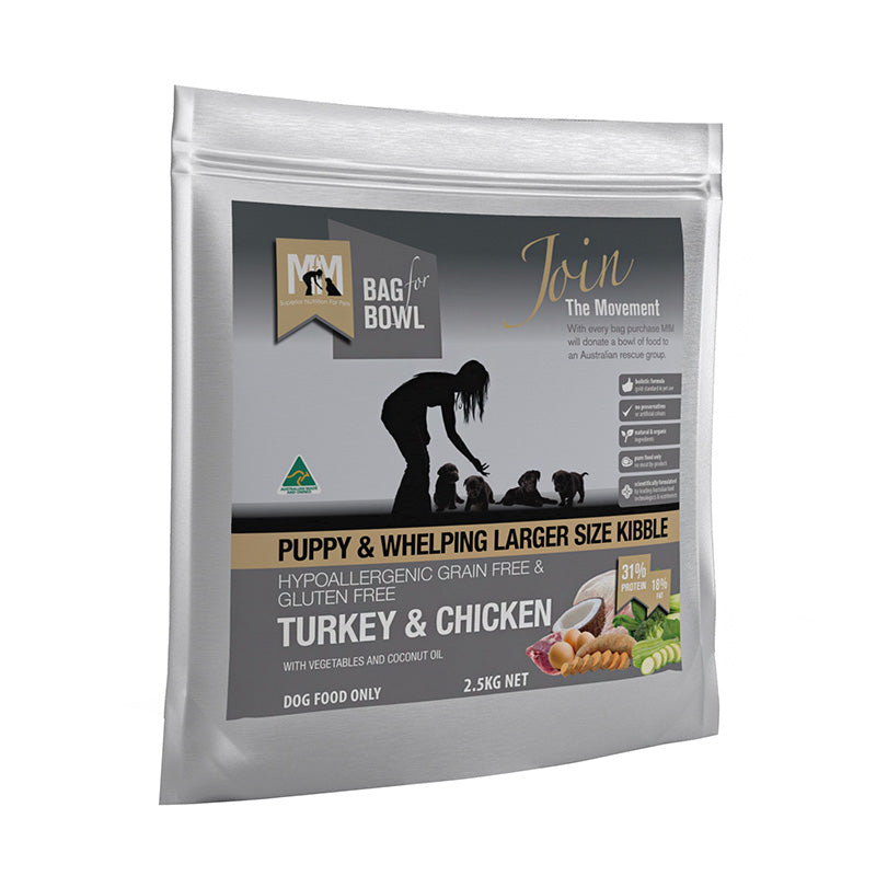 Meals for Pups Grain Free Turkey & Chicken