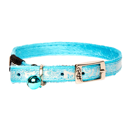 Rogz SparkleCat Pin Buckle Cat Collar