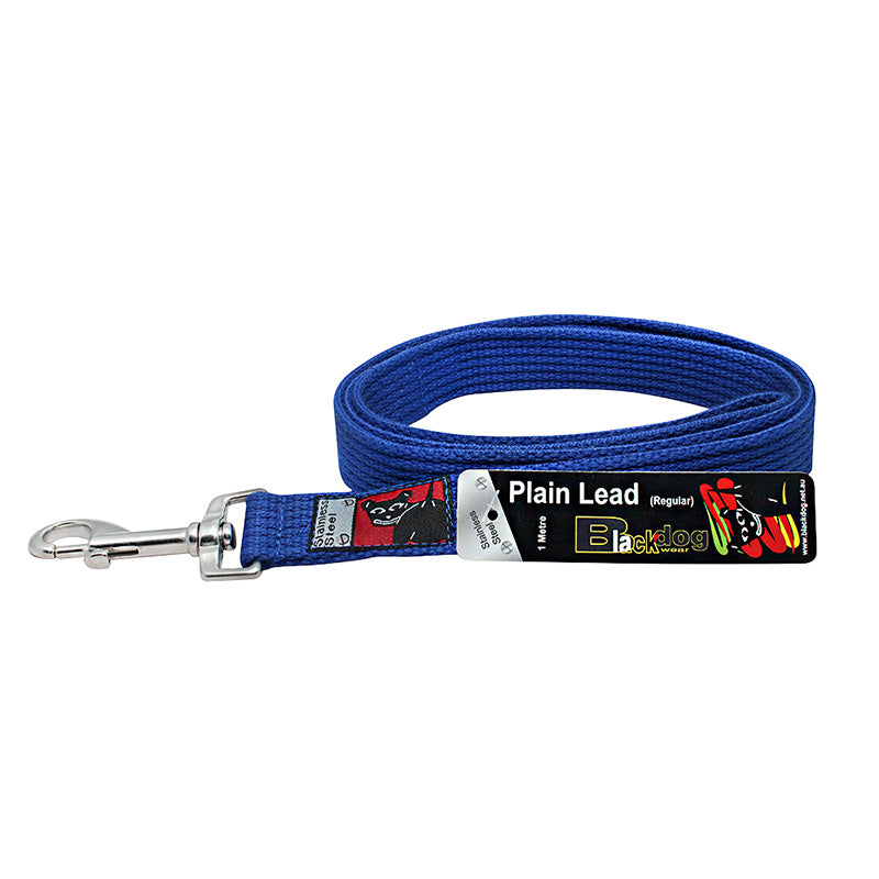 Black Dog Plain Lead 1.2m or 1.8m