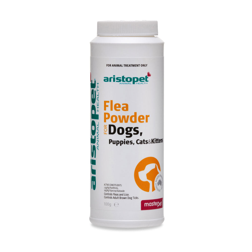 Aristopet Flea Powder for Dogs, Puppies, Cats & Kittens