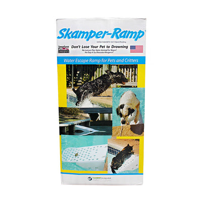 Skamper Ramp Swimming Pool Escape Ramp for Pets