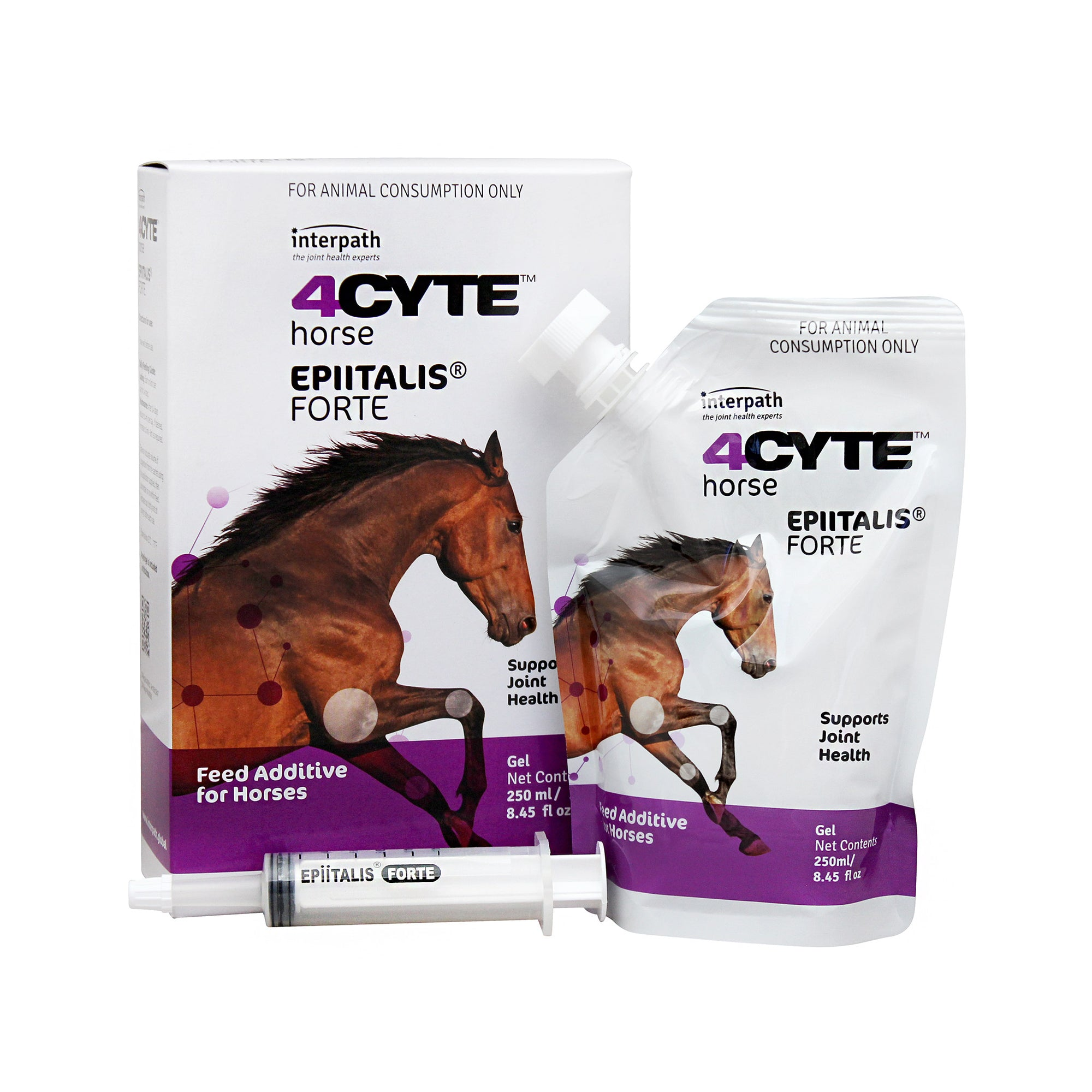 4CYTE Epiitalis Forte Gel Equine Joint Treatment 250ml-vet-n-pet DIRECT