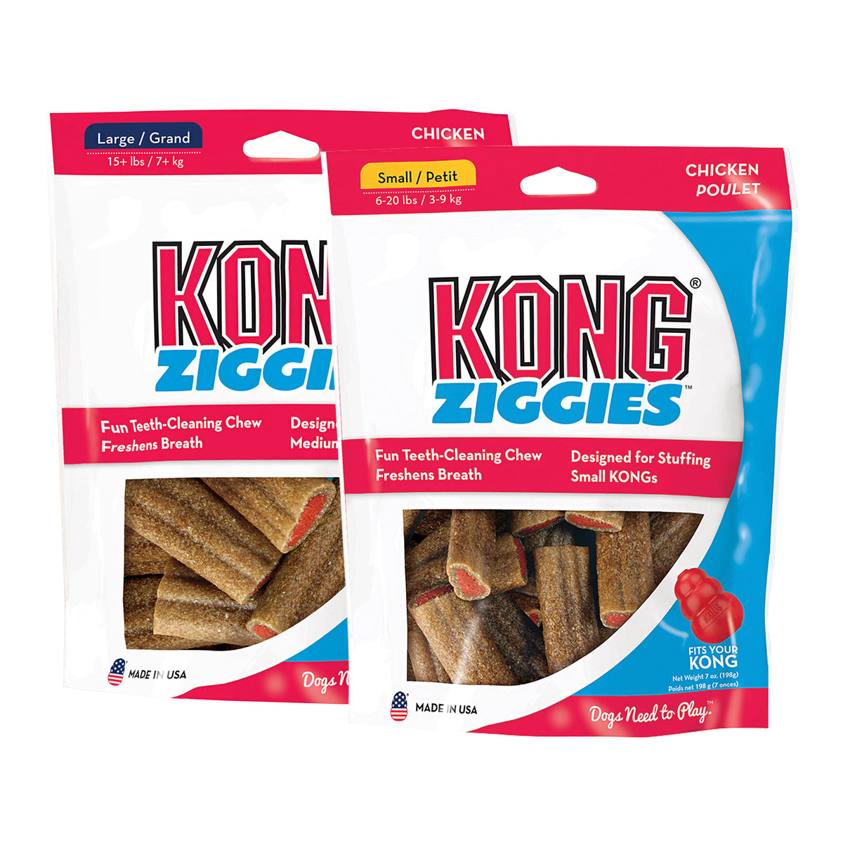 KONG Adult Ziggies Dog Treats
