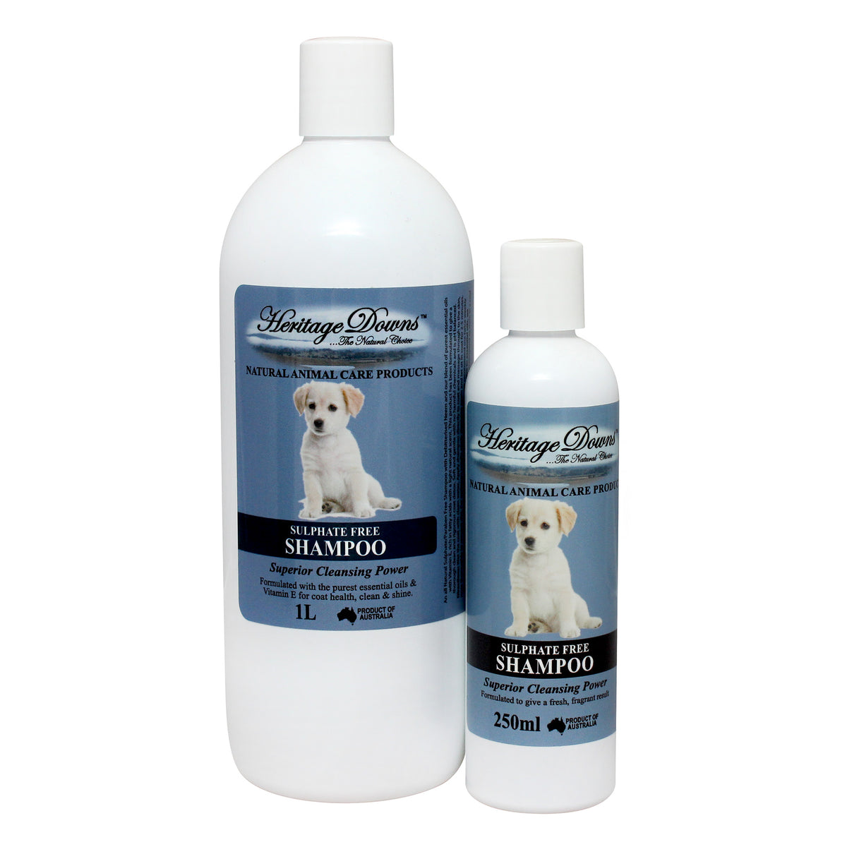 Heritage Downs Sulphate Free Pet Shampoo