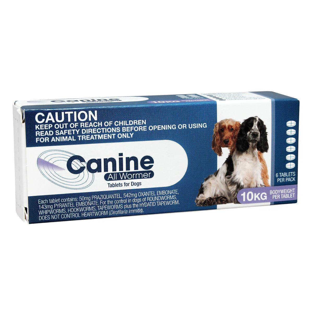 Value Plus Canine All Wormer Tablets