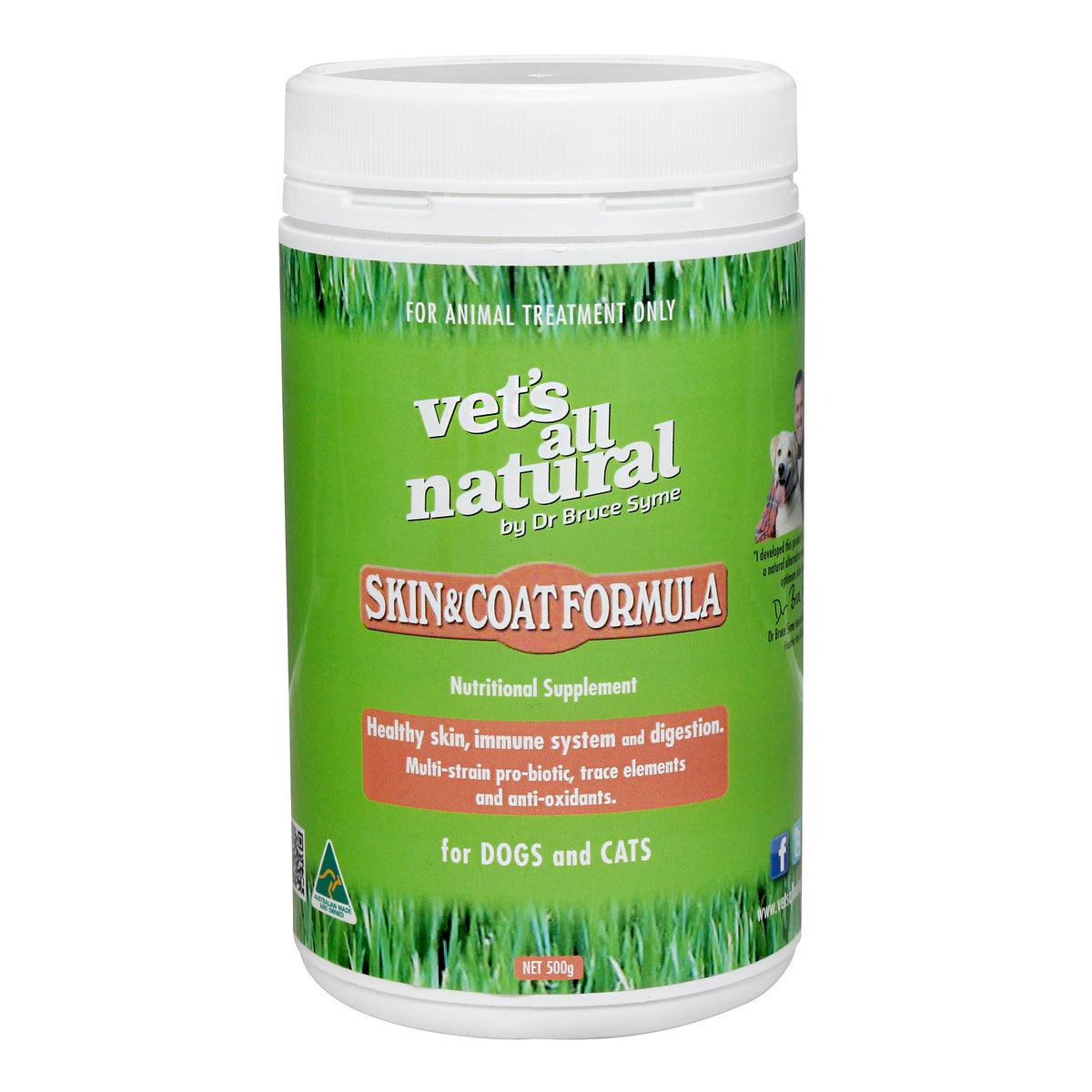 Vet's All Natural Skin & Coat Formula