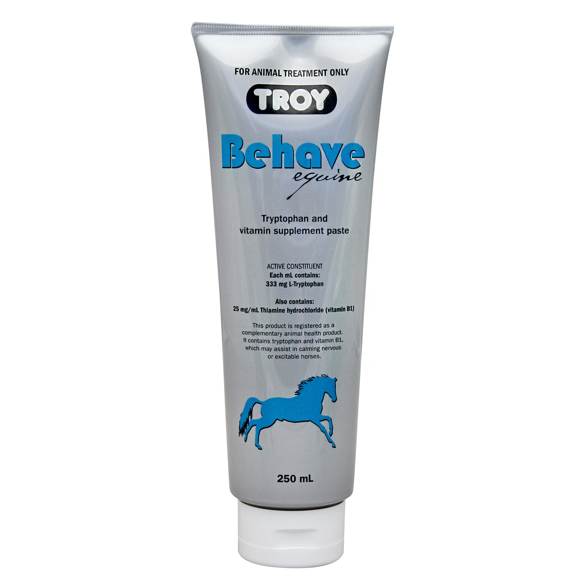 Troy Behave Equine Tryptophan and Vitamin Supplement Paste