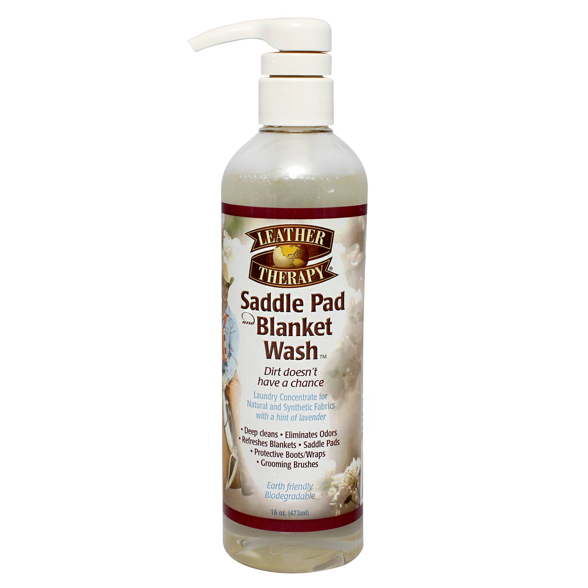 Leather Therapy Saddle Pad & Blanket Wash 473mL