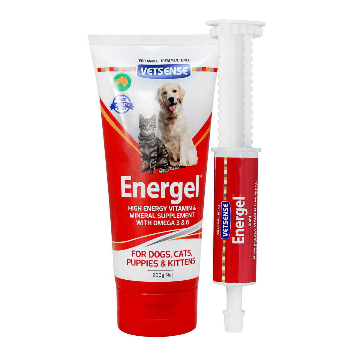 Vetsense Energel High Energy Vitamin & Mineral Supplement