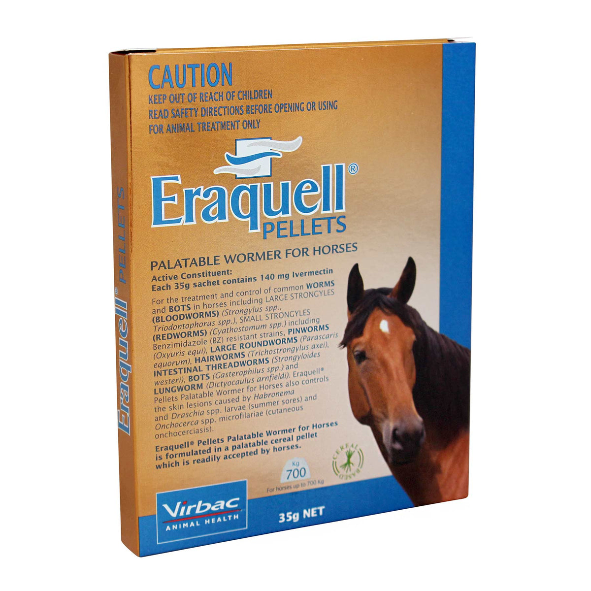 Eraquell Pellets Palatable Wormer for Horses 35g