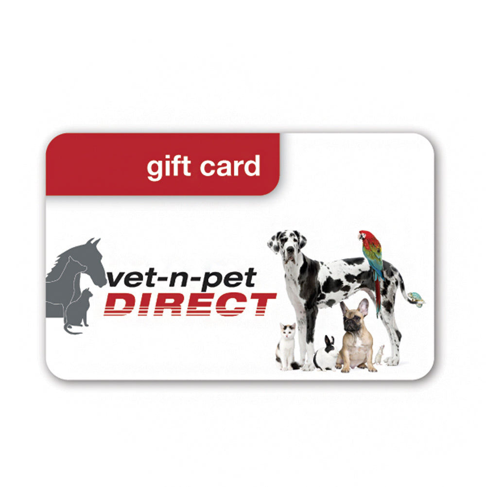 vet-n-pet Gift Cards (E-Gift Card)