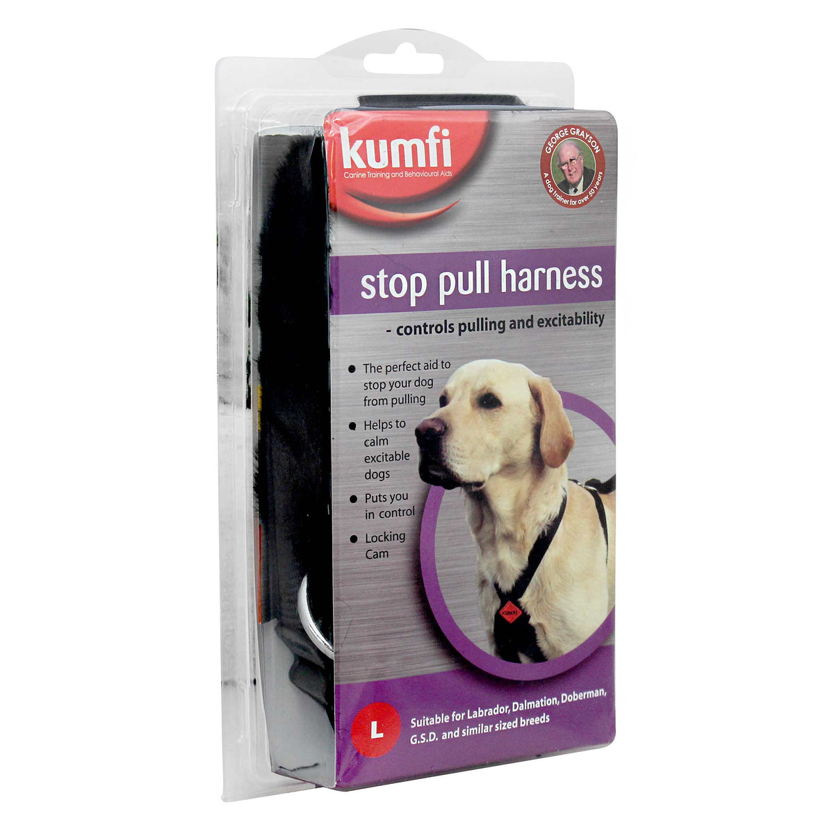 Kumfi Stop Pull Harness for Dogs