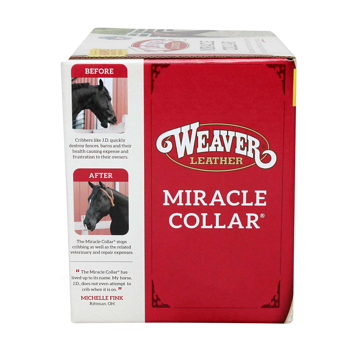 Miracle Collar for Horses  - Stops Cribbing, Wind Sucking