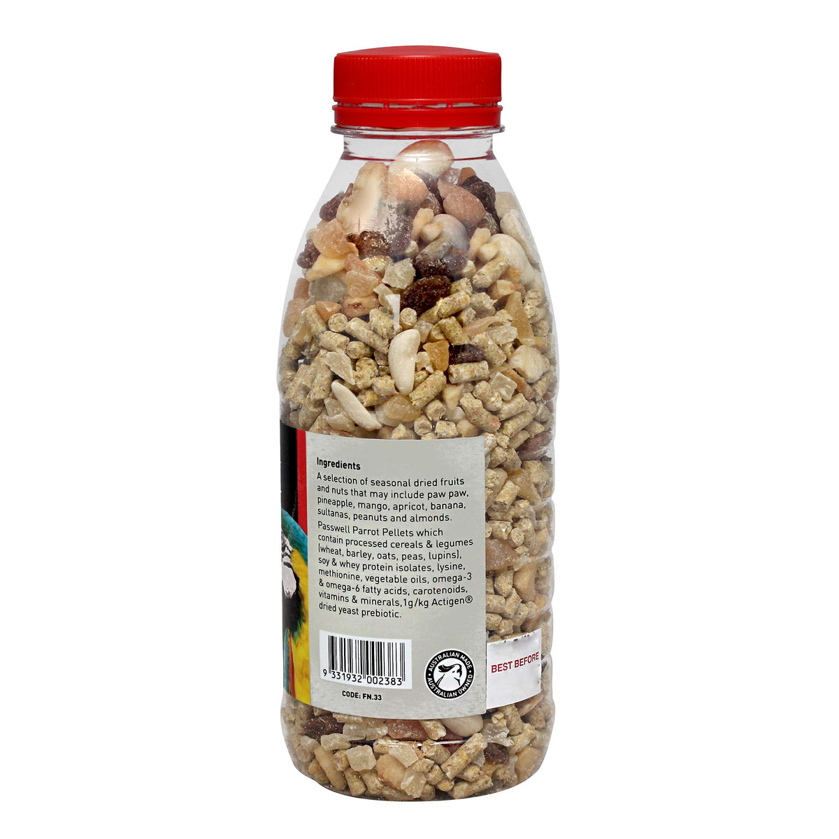 Passwell Fruit & Nut Treat for Birds 330g