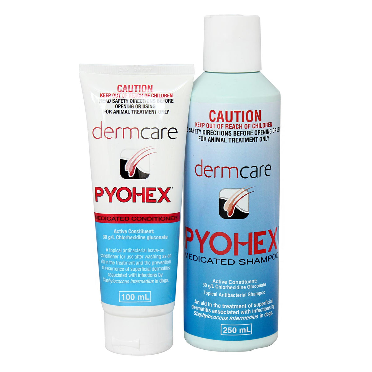 Pyohex Medicated Shampoo for Bacterial Skin Infections in Dogs
