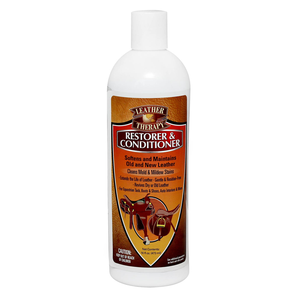 Leather Therapy Restorer & Conditioner  473mL