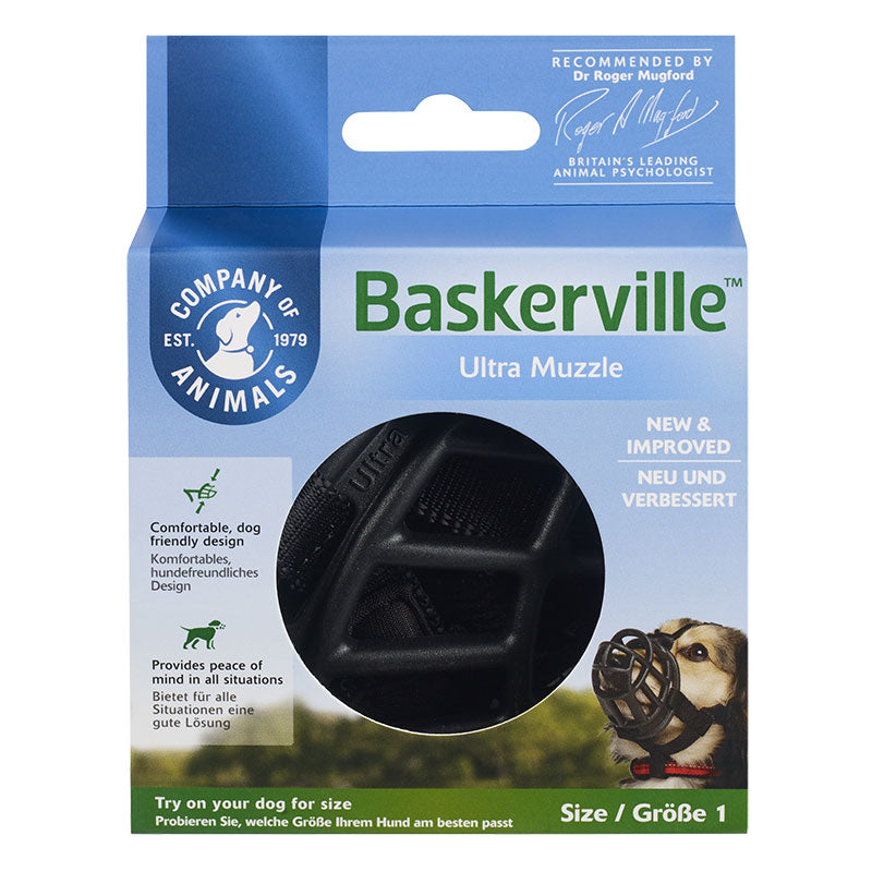 Baskerville Ultra Muzzle for Dogs
