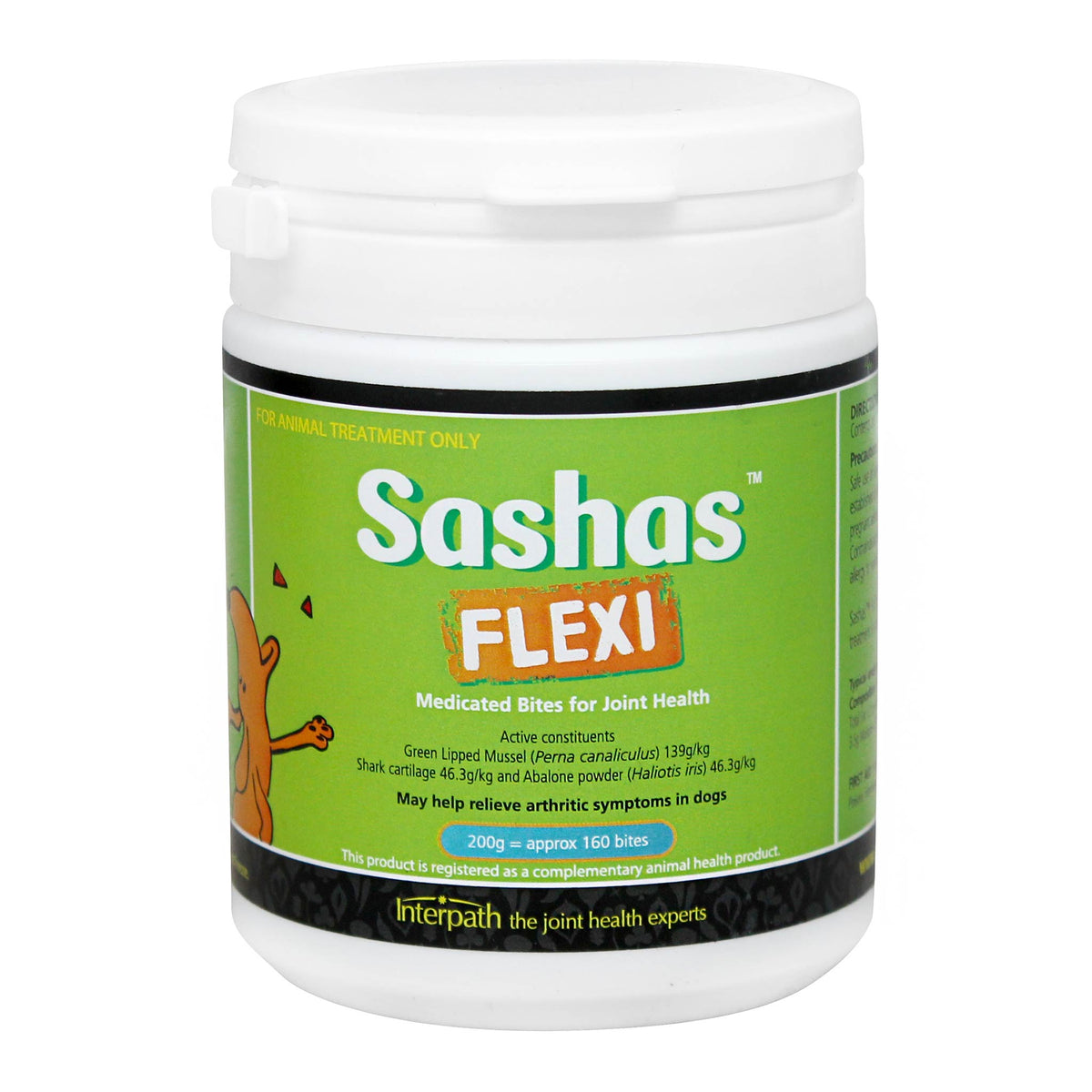 Sashas Flexi Medicated Bites for Joint Health